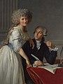 Antoine Laurent Lavoisier (1743–1794) and His Wife (Marie Anne Pierrette Paulze, 1758–1836) MET DP-13140-002.jpg