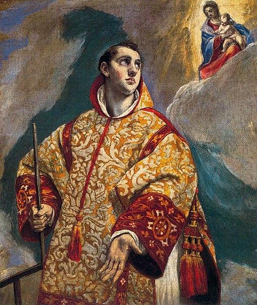File:Aparicion de la Virgen a san Lorenzo El Greco.jpg