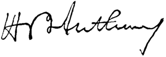 Henry B. Anthony - Image: Appletons' Anthony Henry Bowen signature