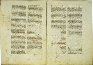 work by Archimedes, calculating via the method of exhaustion the surface area of a sphere and the volume of a ball
