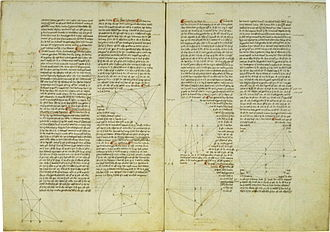 """On the Sphere and Cylinder - A page from """"On the Sphere and Cylinder"""" in Latin"""