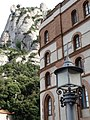 Architectural Detail with Mountain Backdrop - Montserrat - Catalunya - Spain (14586957193).jpg