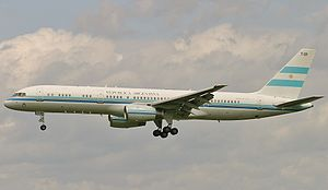 Argentine Air Force Boeing 757 Lebeda.jpg