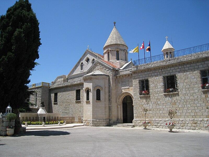 File:Armenian Catholic Patriarchate, Bzoummar, Lebanon (2).JPG