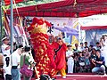Army Academy R.O.C. Lion Dance Team Performing Program in Morning 20130504d.jpg