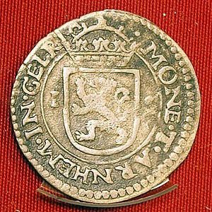 Stuiver - An Arnhem stuiver of 1598.