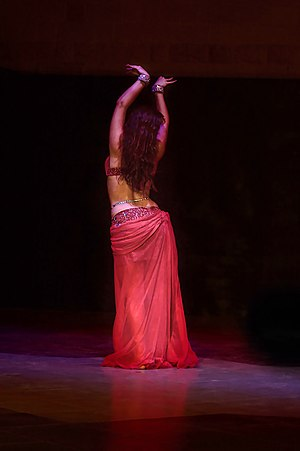 Arab dance - Image: Art of belly dancing