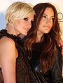 Ashlee Simpson, Minka Kelly.jpg