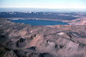 Askja - Askja caldera in 1984