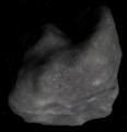Asteroid 6489 Golevka (Celestia simulation).png