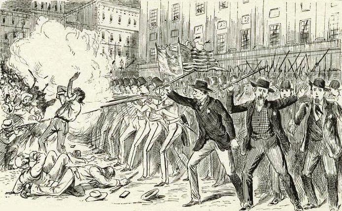 Astor Place Riot, 1849 crop