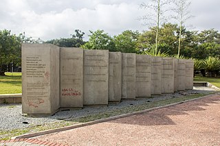 Memorial to those that were persecuted for political reasons