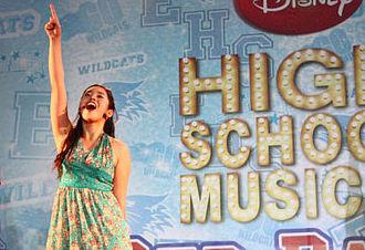 Athena (singer) - Athena appears as Gabrielle Montez on the High School Musical tour, 2007