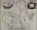 Atlas maritimus, or A book of charts - Describeing the sea coasts capes headlands sands shoals rocks and dangers the bayes roads harbors rivers and ports, in most of the knowne parts of the world. (14566804719).jpg