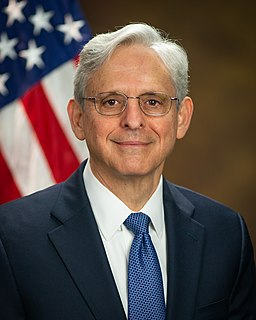 Merrick Garland American lawyer, judge, and 86th United States Attorney General