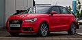 Audi A1 Sportback 1.4 TFSI Ambition – Frontansicht, 13. Juni 2012, Velbert.jpg