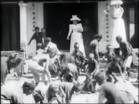 File:Auguste & Louis Lumière- Enfants annamites ramassant des sapèques devant la pagode des dames (1900).webm