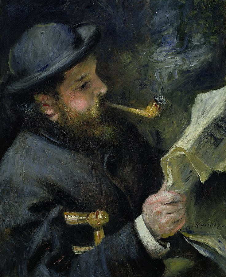 Monet that reads