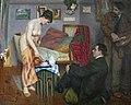 Augustins - L'heure du thè - Alphonse Fauré - 1912 - Joconde05620001372 .jpg