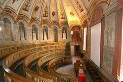 Aula Scarpa, ex teatro anatomico intitolato al celebre anatomo-chirurgo Antonio Scarpa