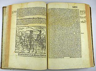 Una stampa cinquecentesca delle Historiae di Livio