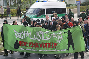 Autonome Nationalisten - Image: Autonome Nationalisten am 7.10.2006 in NDH