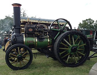 Traction engine - Aveling & Porter traction engine 'Avellana'