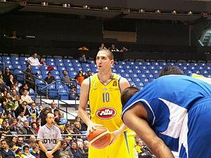 Tal Burstein - Burstein playing with Maccabi Tel Aviv