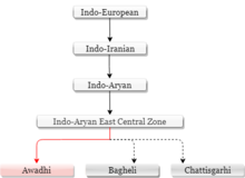 Awadhi language - Wikipedia
