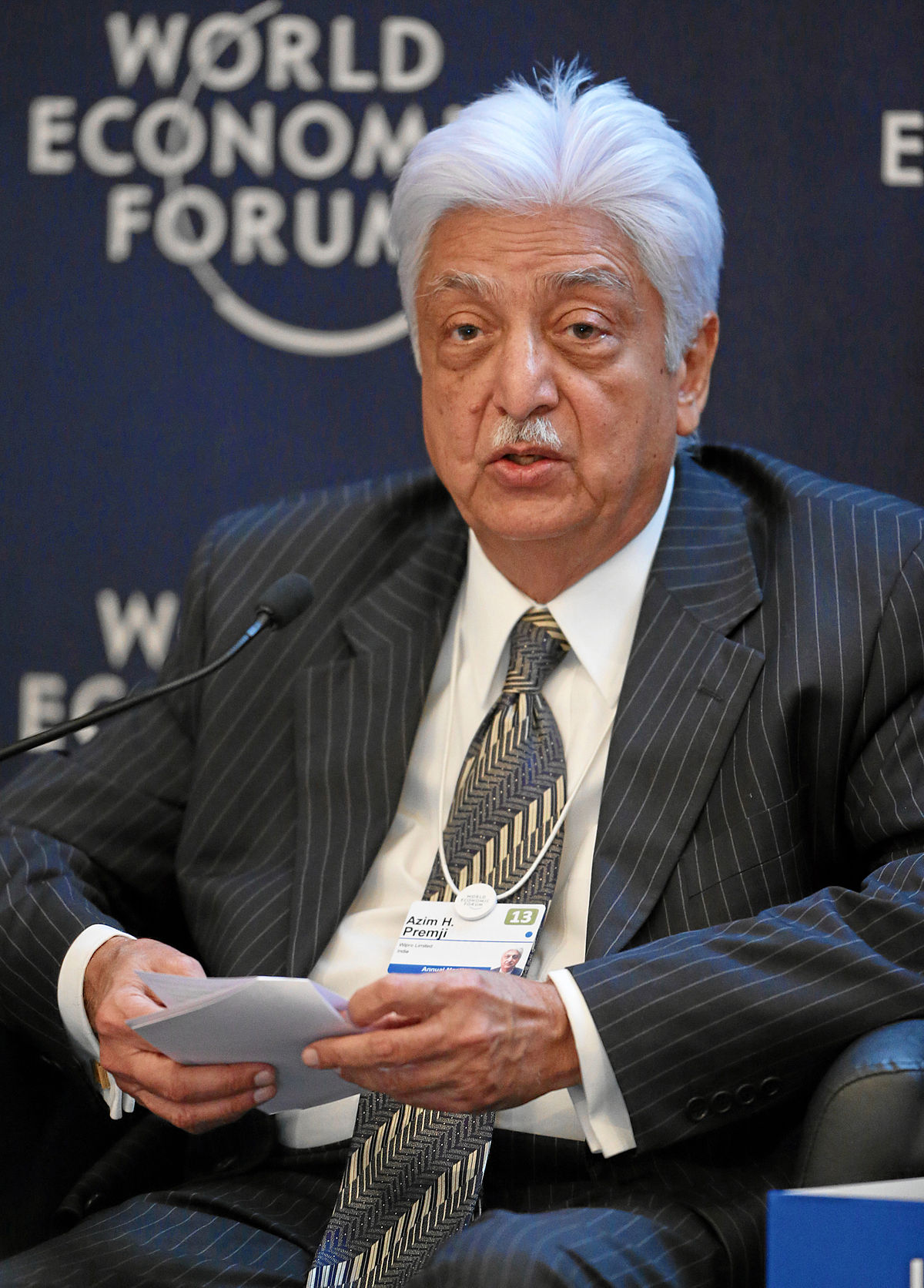 ajim premji Bengaluru: wipro ltd chairman azimhashim premji, unsurprisingly, was ranked the most generous indian on the hurun india philanthropy list 2015 released on friday premji, in fact,contributed 80% of the total donations made by 36 indian philanthrop.