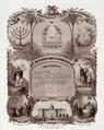 B'nai B'rith membership certificate 1876.png