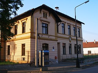 Municipality and village in Central Bohemian Region, Czech Republic