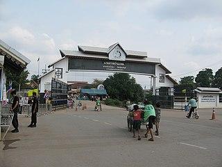 Pong Nam Ron District District in Chanthaburi, Thailand