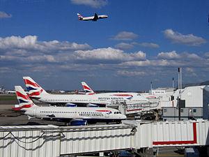 Environmental impact of aviation in the United Kingdom - London Heathrow Airport