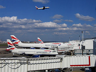 Environmental impact of aviation in the United Kingdom - London Heathrow Airport