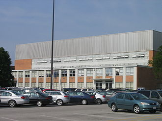 Anderson Arena - Exterior of Anderson Arena