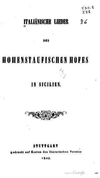 File:BLV 005-2 Italiaenische Lieder des Hohenstaufischen Hofes in Sicilien.pdf