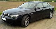 BMW 7-Series (E65, pre-update)