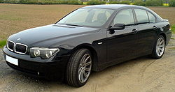BMW 7-Series (current generation, pre-update)