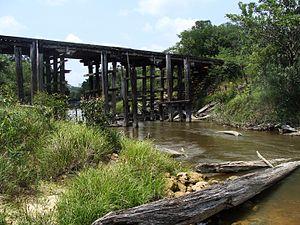 BR-319 - Road bridge