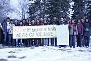 Students of University of Calgary.