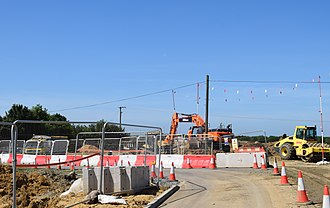 Beccles - Image: BSRR Construction