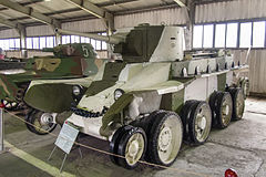 BT-5 in the Kubinka Museum.jpg