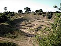 Back lane - the pits - geograph.org.uk - 195595.jpg