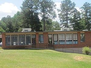 William G. Stewart Elementary School - The back side of Stewart Elementary