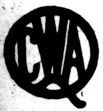 Queensland Country Women's Association - Logo of the Queensland Country Women's Association, 1928
