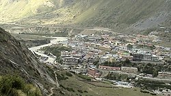 Badrinath Valley, along the Alaknanda River