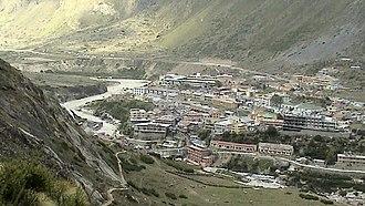 Badrinath - Badrinath Valley, along the Alaknanda River