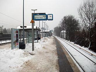 Osdorfer Straße station - Osdorfer Straße station in December 2010