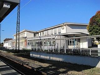 Niederlahnstein station railway station in Lahnstein, Germany